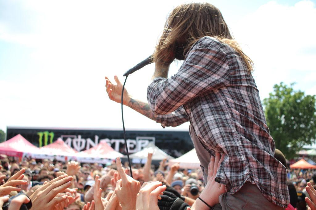 It's hot, sticky, loud and the best day ever. Welcome to Warped Tour. Keith Buckley of Every Time I Die.