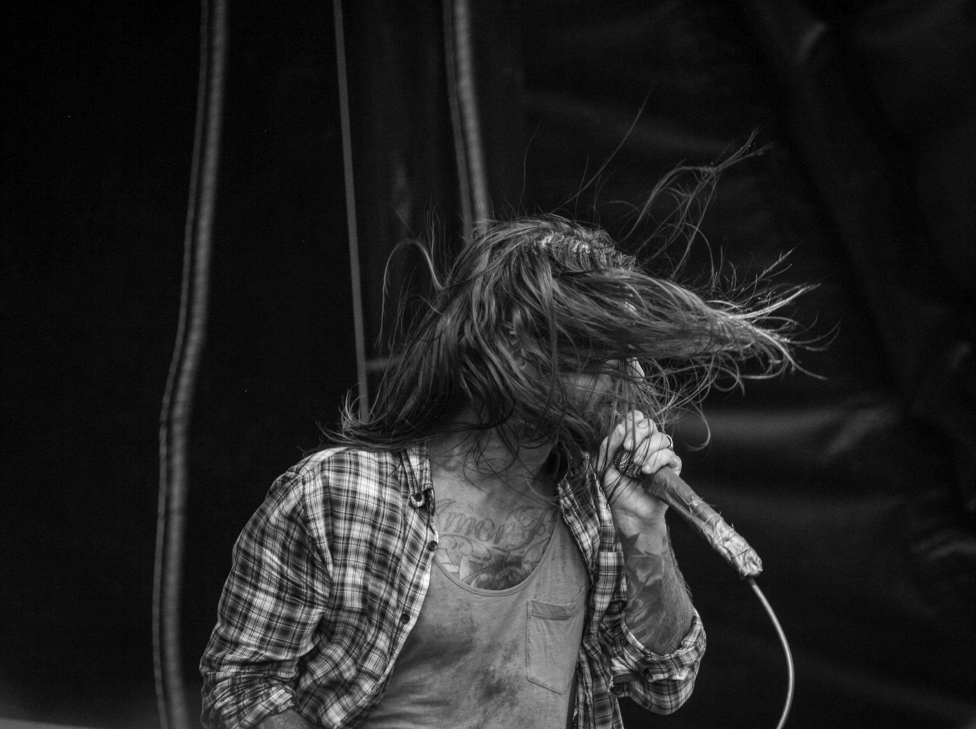 Buffalo's own Keith Buckley of Every Time I Die.
