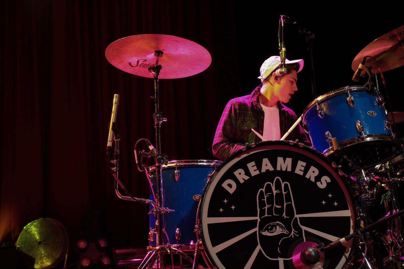 Photo of Dreamers drummer