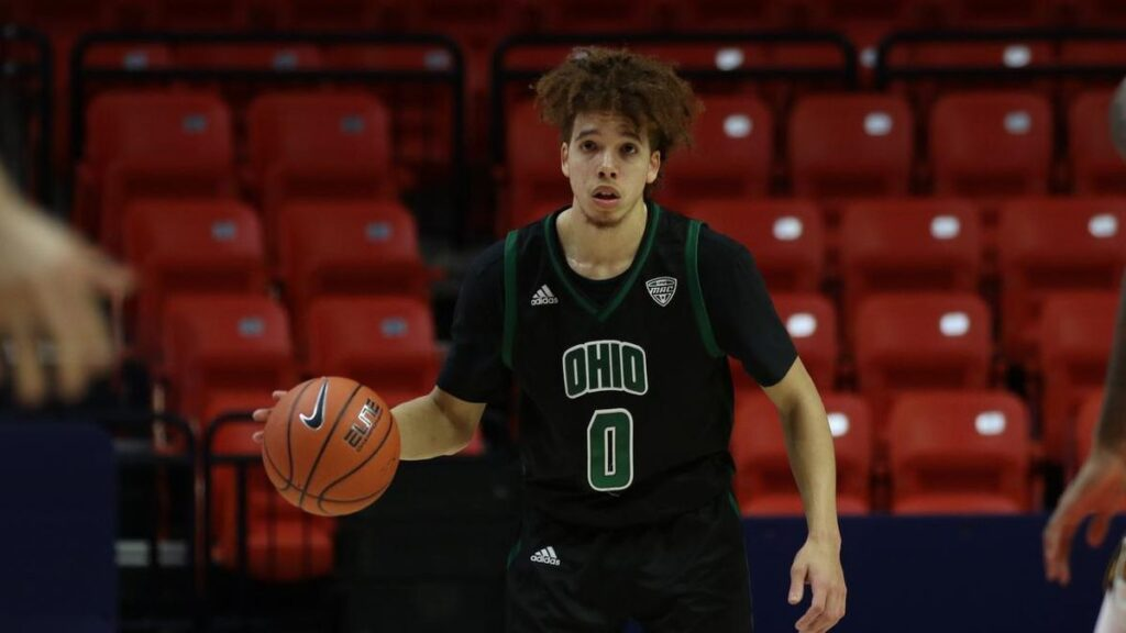 Photo of Ohio Bobcat's guard Jason Preston.